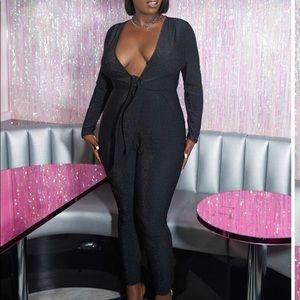 Glitter bodysuit